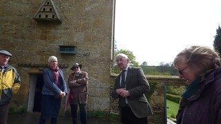 The guide explains about the advert Charles Wade saw in an English Newspaper about Snowshill Manor NT for sale. The perfect museum to store his treasures. So in 1919 he offered £3500 for the Manor and estate and he settled down in the Priest House, with h