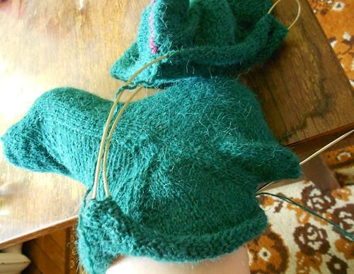 Skew зеленые носки велики