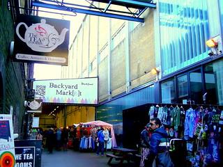 The Tea Rooms en Brick Lane, London
