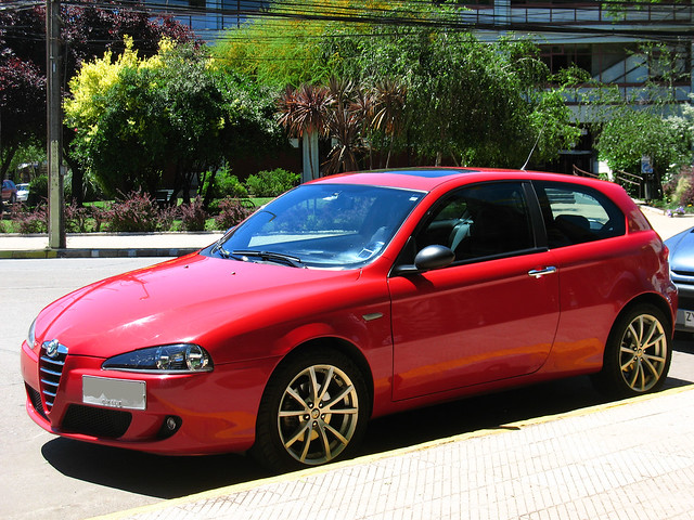 alfa romeo 147 ti 2007 flickr photo sharing. Black Bedroom Furniture Sets. Home Design Ideas