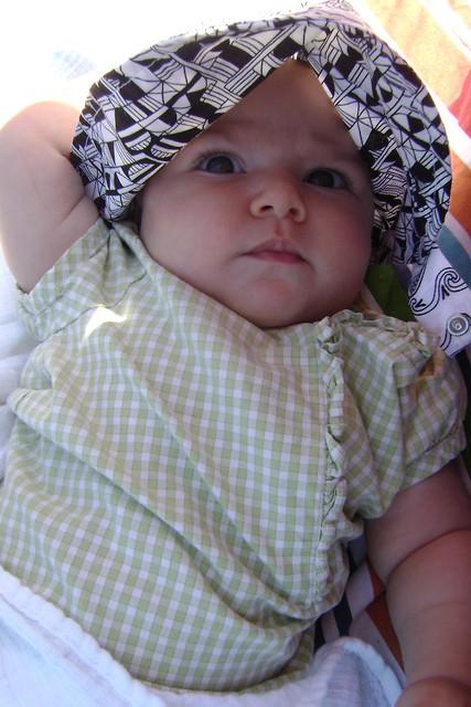 Sissie at 4 months
