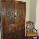 Antique Asian wedding cabinet bedroom storage