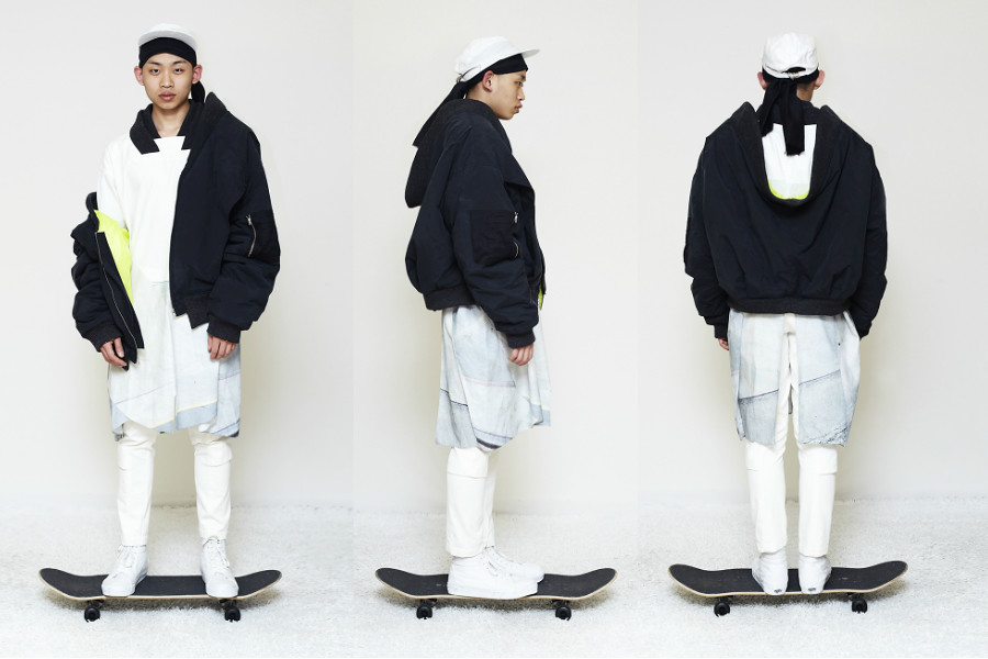 Jino Lee is a young up-and-coming menswear designer based in Antwerp 5