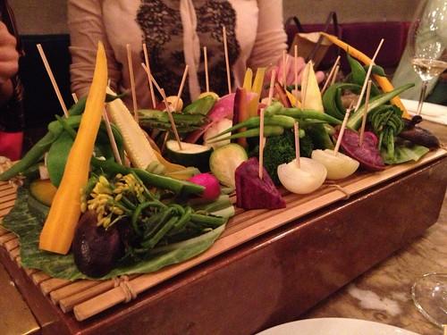 温野菜の盛り合わせ@エンボカ 東京