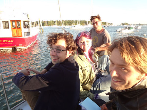 finalrune posted a photo:	Recording aboard sailboat in South Freeport, Maine