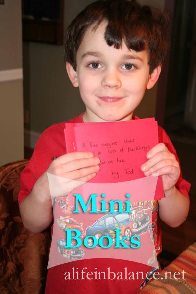 Making Mini Books with Kids