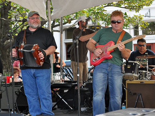 Ganey Arsement at the Cajun-Zydeco Fest