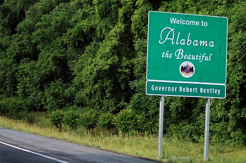 Welcome To ...Alabama Sign