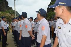 台東縣政府不惜調用警力對抗居民。(圖片來源:東清七號地自救會)