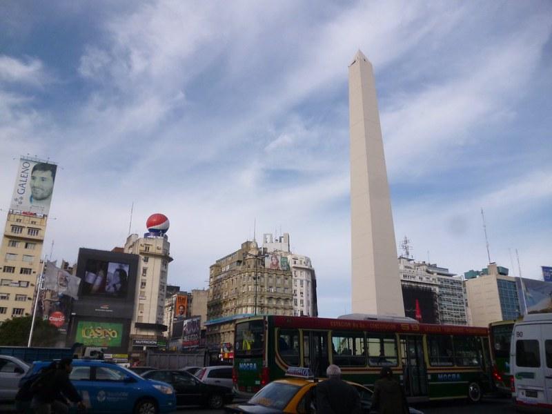 Obelisk on Avenida 9 de Junio, Buenos Aires