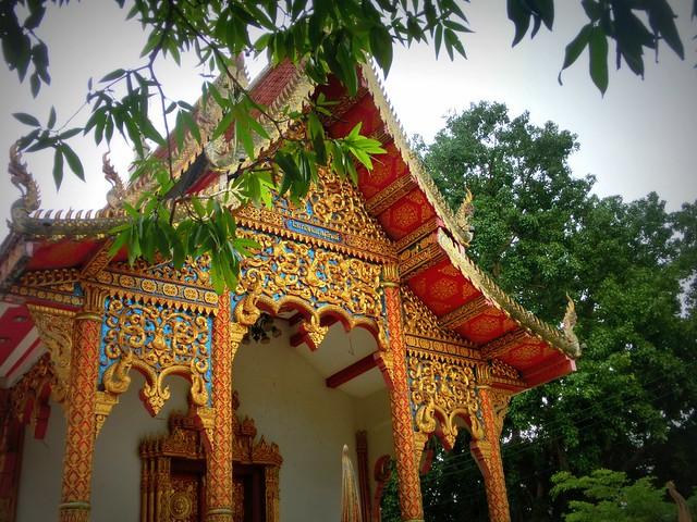 Wat Sri Suphan in Chiang Mai, Thailand