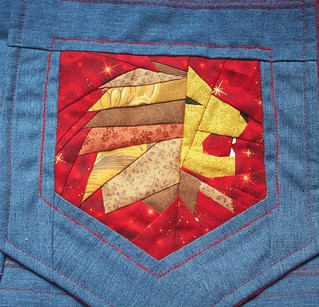 Gryffindor Purse--Detail