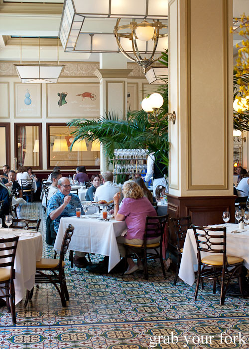 dining room at bouchon bistro beverly hills la los angeles