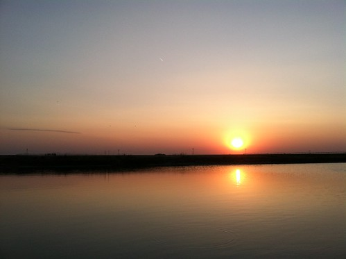 Z Crew: Sunset over the pond