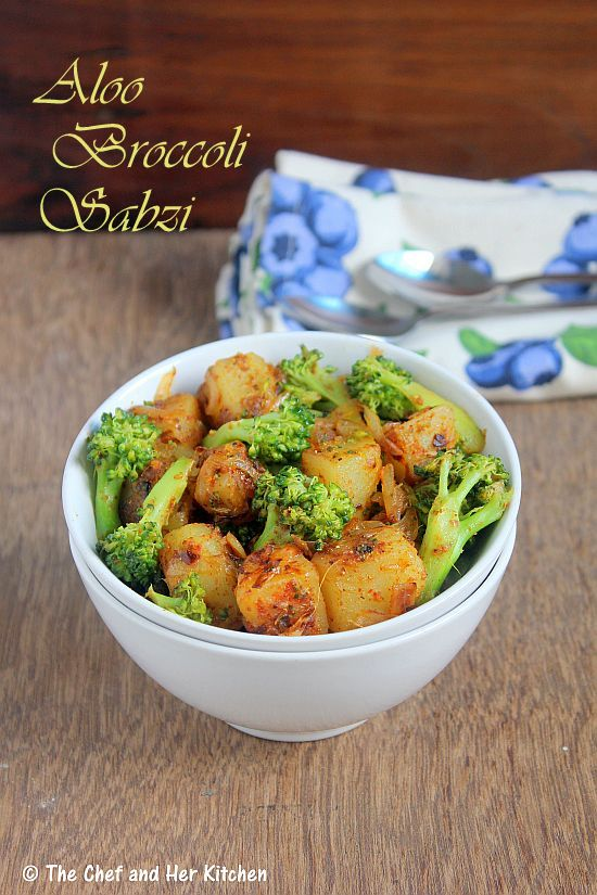 Aloo Broccoli Sabzi | Broccoli Recipes