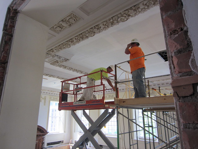 Stetson ceiling repair