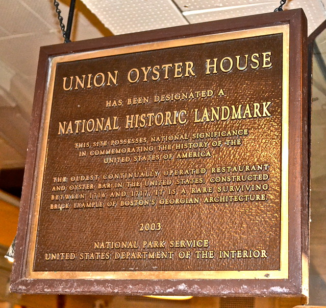 Oldest restaurant in America - Union Oyster House