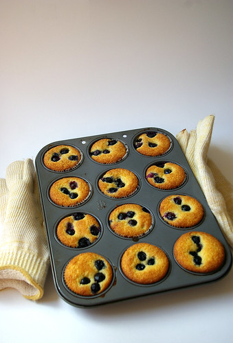 Blueberry Cornmeal Muffins I
