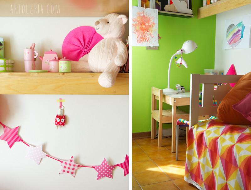 girl's room details