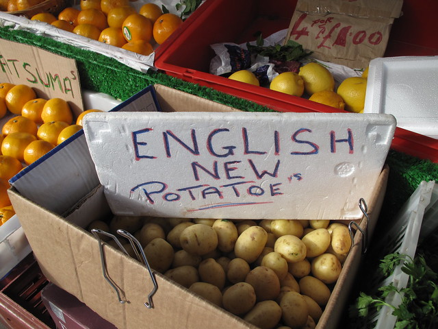 English new potatoe's
