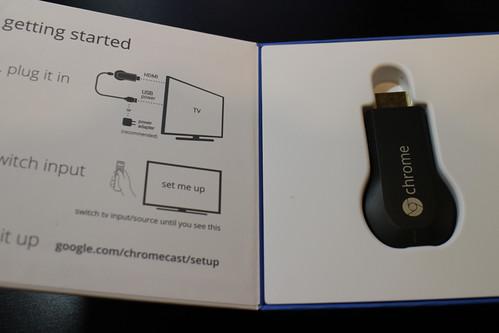 Chromecast開封の儀