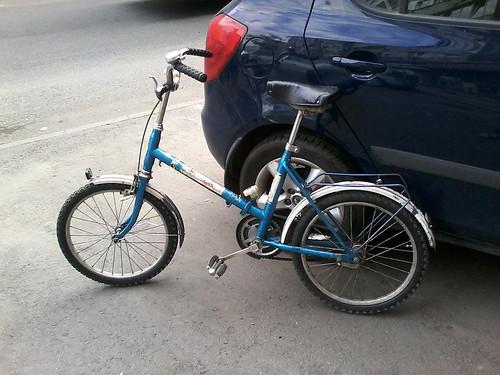 Pegas bike - before