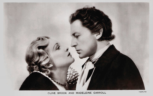 Madeleine Carroll and Clive Brook in The Dictator (1935)