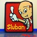 SLUBAN Logo (brick built)