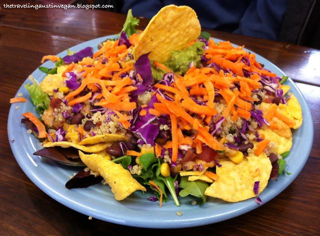Vegan Taco Salad - Vegeria - San Antonio, TX