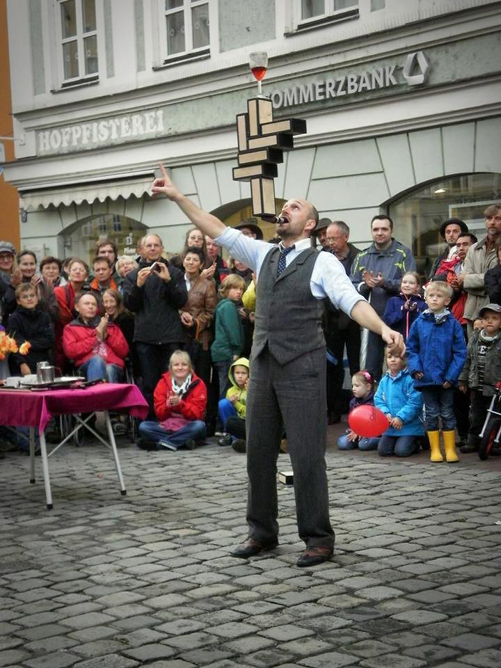 street performing landshut