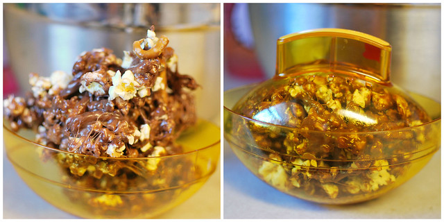 Sweet & Salty Nutella Popcorn Balls