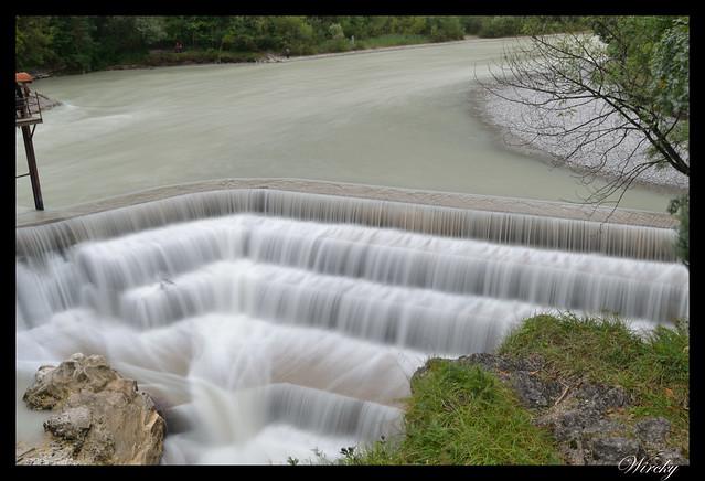 Cascada Lechfall en Fussen