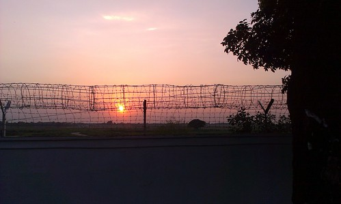 sunset airport bangladesh