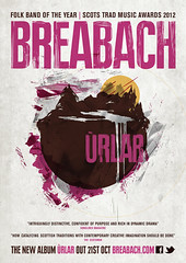 Breabach - New Album 'Urlar' out 21 October 2013