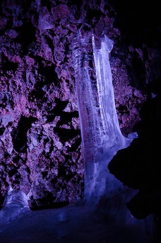氷柱 - 鳴沢氷穴