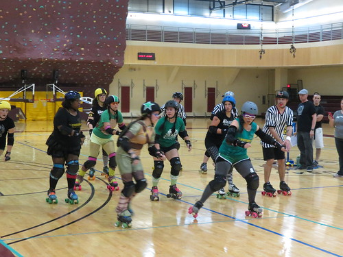 ROKD and OH! Roller derby Mash Up