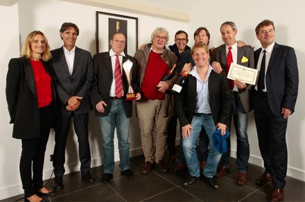 Equipe gagnante belge