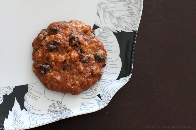 Oatmeal Applesauce Cranberry Cookies Recipe