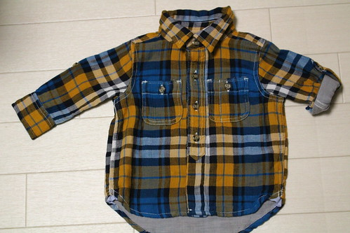 babyGap(ベビーギャップ)2013秋冬ブルゾンネルシャツ