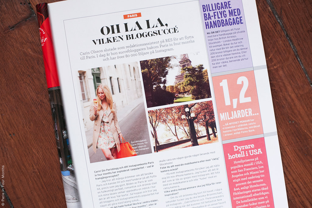 In the Swedish Travel Magazine RES