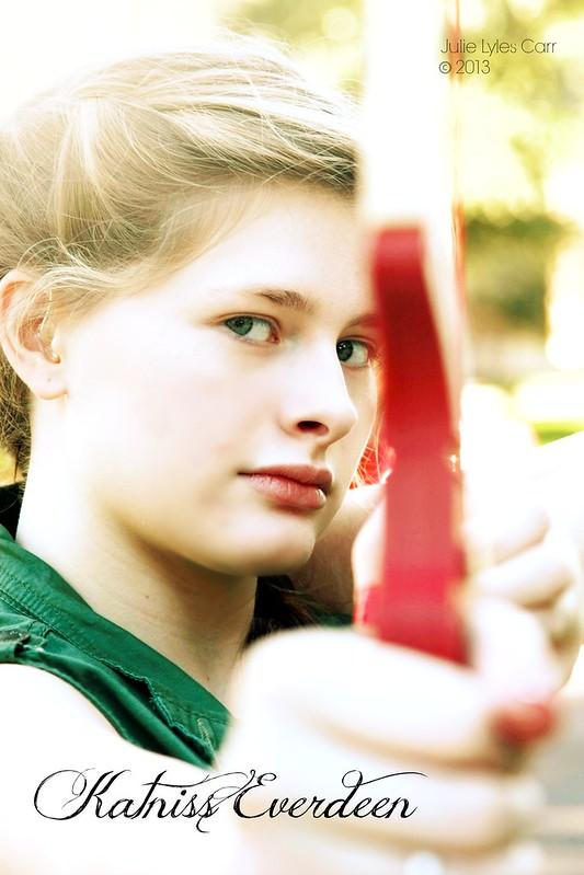 Mae as Katniss