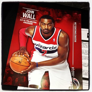 John Wall is 'very excited' for the #Wizards home opener. His pregame speech featured 'tons' of passion.