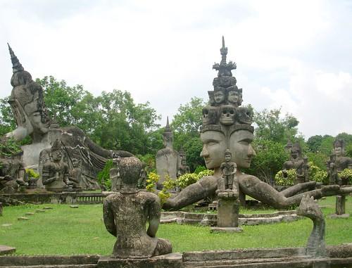 Vientiane 2007-Bouddha Park (5)
