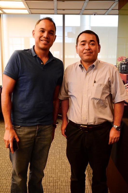 Dennis Zamora and Koichi Ishihara