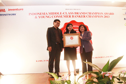 Indonesia Young Consumer Banker Award 2013