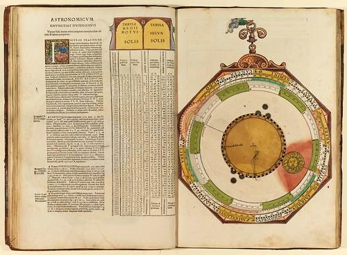 004-Astronomicum Caesareum-1540- Petrus Apianus -Staatsblibliothek Bamberg
