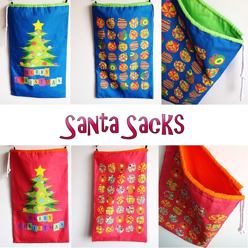 Santa Sacks now available! by CurlyPops