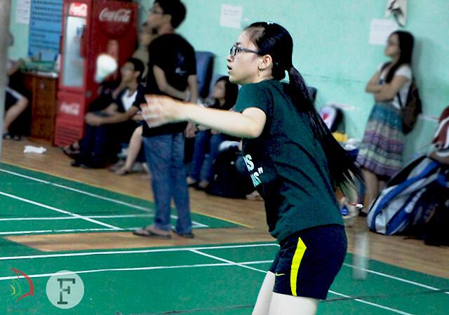 Hồng Hạnh nổi bật trên sân thi đấu như những gì đã thể hiện ở các vòng trước