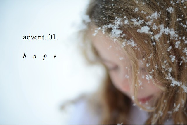 Light the Candles. Advent Devotionals. The First Sunday: Hope. [VIDEO experience]