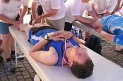 Únavu z dlouhých běhů účinně odstraní masáž